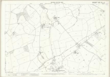 Staffordshire LXVI.10 (includes: Bobbington; Claverley) - 25 Inch Map