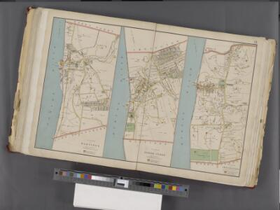 Westchester, Double Page Plate No. 21 [Map of village of Hastings, Village of Dobbs Ferry, Village of Irvington] / prepared under the direction of Joseph R. Bien, from general surveys and official records.