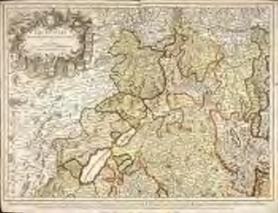 Partie septentrionale des cantons de Berne et de Fribourg, les cantons de Lucerne, de Soleurre, de Basle, la seigneurie de l'evesché de Basle, le comté de Baden, les balliages de Bremgarten, de Mellingen, de Granson, de Morat, les gouvernemens libres, le comté de Neuchatel &c