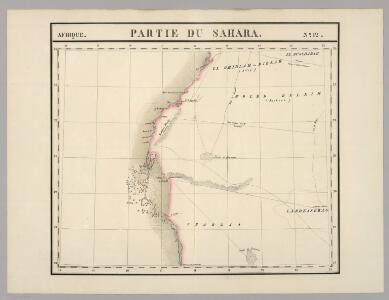 Partie du Sahara. Afrique 12.