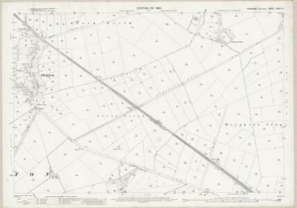 Yorkshire CXCIV.13 (includes: Londesborough; Market Weighton; Shipton Thorpe) - 25 Inch Map