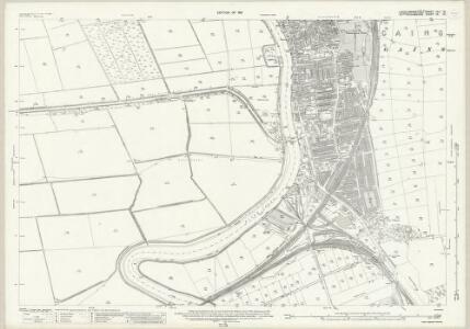 Lincolnshire XLII.12 (includes: Beckingham; Gainsborough; Saundby) - 25 Inch Map