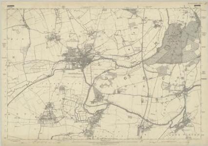 Oxfordshire XXXVIII - OS Six-Inch Map
