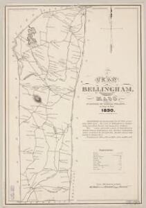 A plan of Bellingham, Norfolk County, Mass