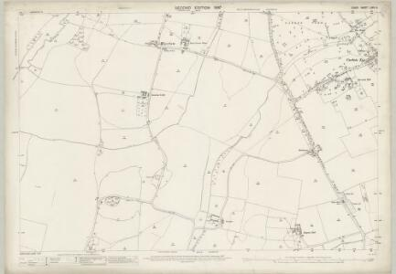 Essex (1st Ed/Rev 1862-96) LXXV.9 (includes: Rainham; Upminster) - 25 Inch Map