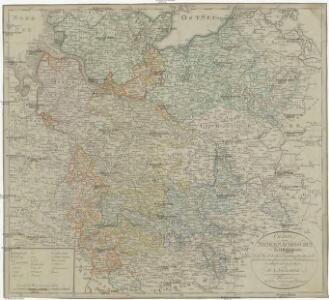 Charte von Nieder Saechsischen Kreise