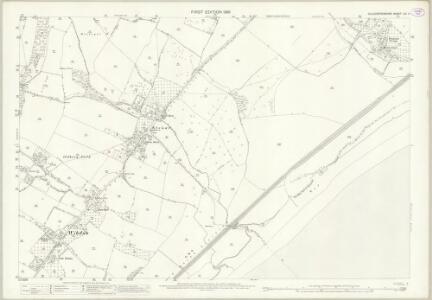 Gloucestershire LIV.4 (includes: Tidenham; Woolaston) - 25 Inch Map