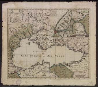 Nova mappa Maris Nigri et Freti Constantinopolitani quam exactissime consignata et in lucem edita per Matth. Seutter