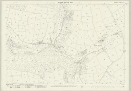 Somerset XLVI.14 (includes: Winsford) - 25 Inch Map