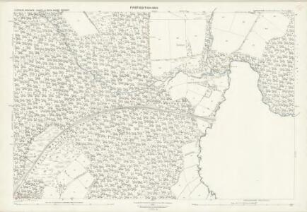 Shropshire LXXX.4 (includes: Cleobury Mortimer; Kinlet; Neen Savage; Rock) - 25 Inch Map