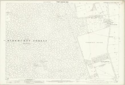 Hampshire and Isle of Wight XC.13 (includes: Newport) - 25 Inch Map