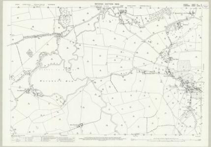 Dorset VII.6 (includes: Fifehead Magdalen; Henstridge; Marnhull; Stalbridge) - 25 Inch Map