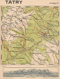 Orientačné mapy: Vysoké Tatry