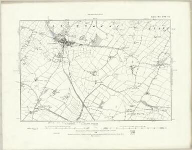 Anglesey XVIII.NW - OS Six-Inch Map