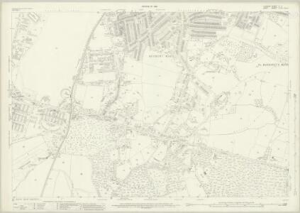 London (1915- Numbered sheets) X.7 (includes: Borough Of Greenwich; Borough Of Woolwich) - 25 Inch Map