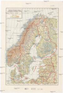 Norsko, Švédsko, Finsko, Estonsko, Lotyšsko a Litva