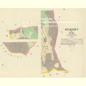 Wusleben - c0323-1-003 - Kaiserpflichtexemplar der Landkarten des stabilen Katasters