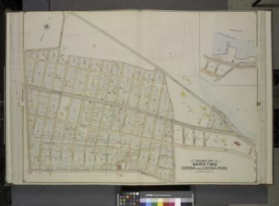 Queens, Vol. 2, Double Page Plate No. 16; Part of     Ward Two Corona and Louona Park; [Map bounded by Old Bowery Road, Flushing and   Astoria Road, Coddington PL.; Including Park Ave., Lent St., Flushing Turnpike,  Junction Ave.]; Sub Plan; [Map boun