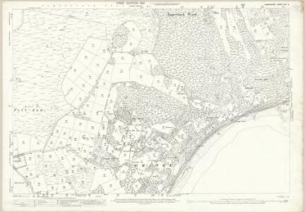 Lancashire XVII.4 (includes: Broughton East; Grange; Lower Allithwaite) - 25 Inch Map