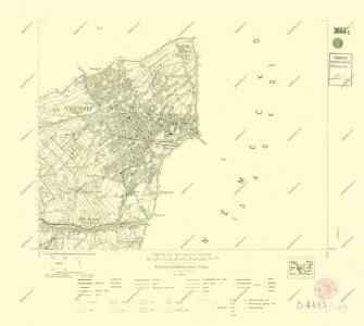 III. vojenské mapování 3653/2