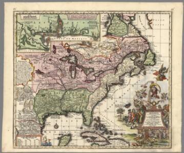 Accurata delineatio celeberrimae Regionis Ludovicianae vel Gallice Louisiane