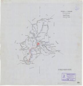 Mapa planimètric de la Bisbal de Falset