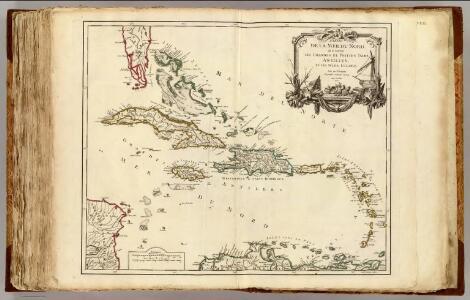 Isles Antilles et Isles Lucayes.