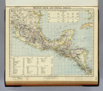 Mexico South, Central America.
