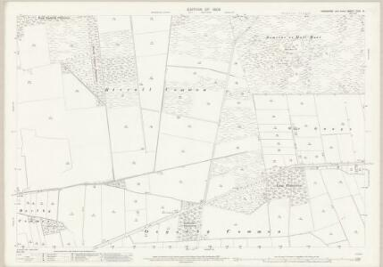 Yorkshire CCVI.16 (includes: Barlby; Cliffe; Riccall; Skipwith) - 25 Inch Map