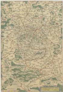 Franciae Orientalis [Vvlgo Franckenlant] Descriptio