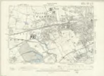 London V.SE - OS Six-Inch Map