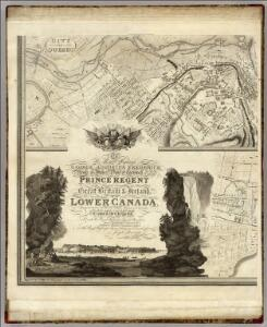 This Topographical map of the Province of Lower Canada. Sheet G-H.