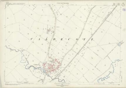 Rutland XV.6 (includes: Caldecott; Great Easton; Gretton; Liddington; Stoke Dry) - 25 Inch Map