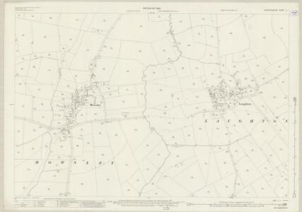 Leicestershire L.1 (includes: Laughton; Mowsley) - 25 Inch Map