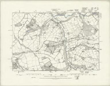 Carmarthenshire XII.SE - OS Six-Inch Map