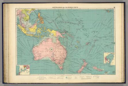 Australasian, Polynesian ports.