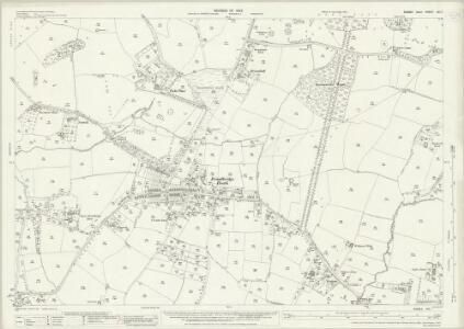 Sussex XIII.7 (includes: Horsham Rural; Slinfold; Warnham) - 25 Inch Map