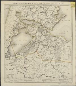 Choro-hijdrographische kaart der environs van Amsterdam.