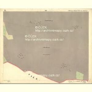 Schwarzhaid - c0872-1-011 - Kaiserpflichtexemplar der Landkarten des stabilen Katasters