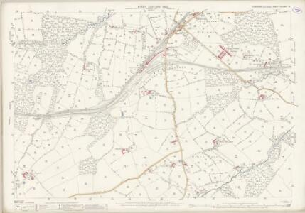 Yorkshire CCLXXIV.13 (includes: Dodworth; Oxspring; Penistone; Silkstone; Stainbrough; Thurgoland) - 25 Inch Map