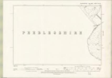 Edinburghshire Sheet XIX.SE - OS 6 Inch map