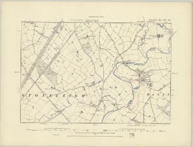 Warwickshire XXVI.NW - OS Six-Inch Map