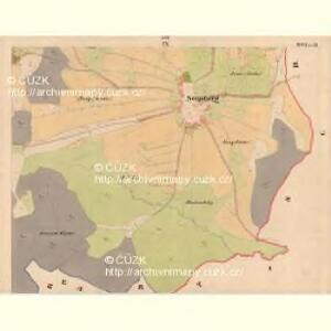 Krzizowitz - c3672-1-009 - Kaiserpflichtexemplar der Landkarten des stabilen Katasters