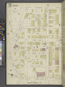 Queens V. 10, Plate No. 73 [Map bounded by Hanover Ave., Maurice Ave., Chicago St., Corona Ave.]