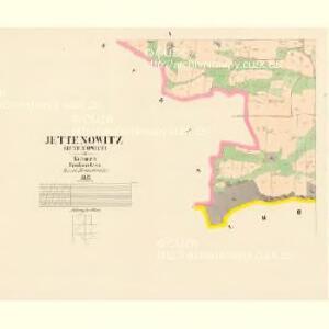 Jettenowitz (Jetenowice) - c2866-1-005 - Kaiserpflichtexemplar der Landkarten des stabilen Katasters