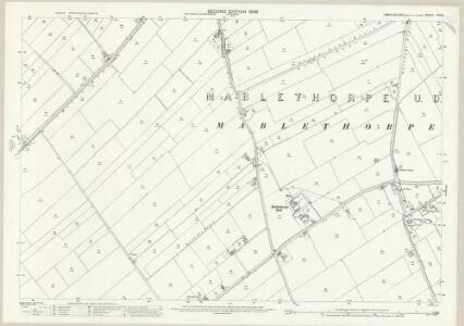 Lincolnshire LVII.8 (includes: Mablethorpe; Theddlethorpe St Helen; Withern with Stain) - 25 Inch Map