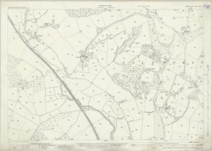 Sussex XXX.11 (includes: Salehurst) - 25 Inch Map