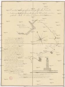 Carta idrografica del golfo di Trieste