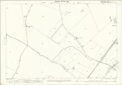 Hertfordshire IV.13 (includes: Ashwell; Bygrave; Guilden Morden; Newnham; Sandon; Wallington) - 25 Inch Map