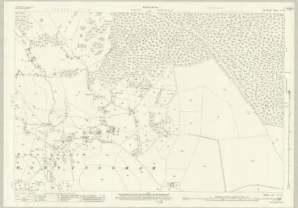 Wiltshire LI.14 (includes: Horningsham; Longbridge Deverill) - 25 Inch Map